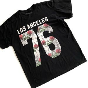 Ring of Fire Los Angeles 76 Graphic T-Shirt XL